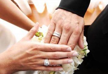 Tradycje i zwyczaje ślubne: nosić palec obrączkę