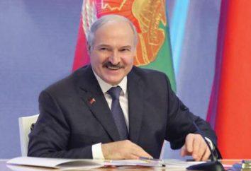 Loukachenko Aleksandr Grigorevich. Président du Bélarus. Photos, vie personnelle