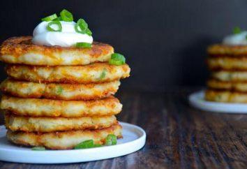 Frittelle di patate con prosciutto e formaggio – semplice e gustoso piatto