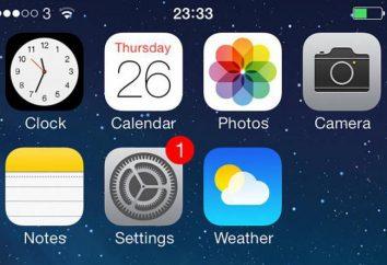 Como alterar a data em iOS e algumas outras configurações