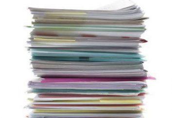 la presentación de documentos. Cómo presentar los documentos?