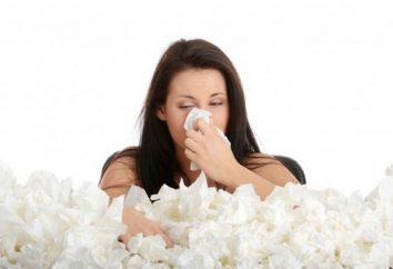 Gouttes et pulvériser la rhinite allergique
