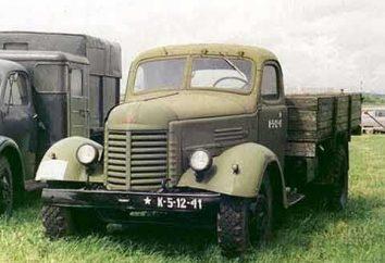 Fahrzeug ZIS-150: Spezifikationen, Beschreibung, Fotos