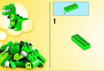 Comment faire un dinosaure « Lego »: une description étape par étape