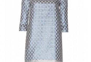 Jacquard Dress: stili, modelli