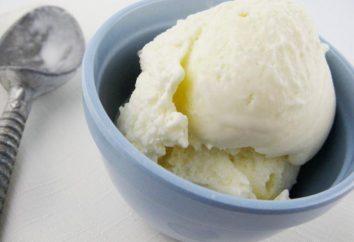 Domowe lody, lody smak Radzieckiego. Krok po kroku przepis ze zdjęciem