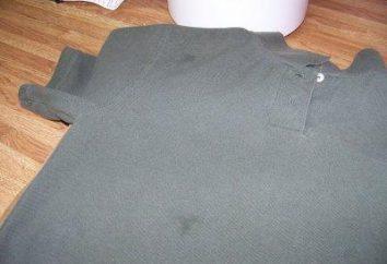 Jak usunąć plamy tłuszczu z odzieży? Środki i metody