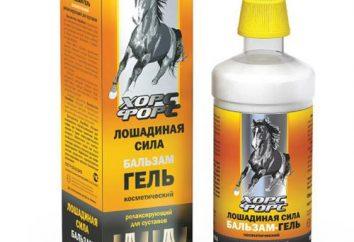 """Balm """"Horsepower"""" per le articolazioni: composizione, le proprietà e le opinioni dei consumatori"""