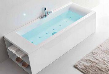 Flush mélangeurs baignoires en acrylique: commentaires, descriptions, modèles et commentaires