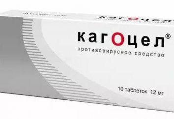 """""""Kagocel"""" per i bambini: istruzioni per l'uso, la composizione, dosaggio"""