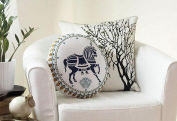 oreillers décoratifs – un excellent ajout à tout décor.