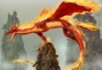 I dragoni di fuoco sono una caratteristica di un segno