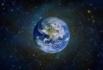Principales características de la tierra como un cuerpo celeste