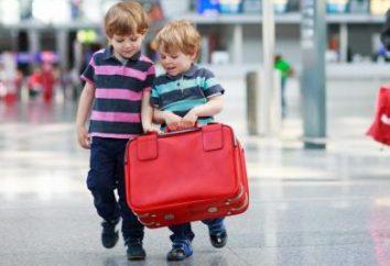 Procura per l'esportazione del bambino all'estero. Un passaporto per un bambino meno di un anno