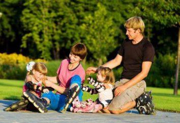 Como ensinar as crianças a andar de patins? dicas e truques úteis