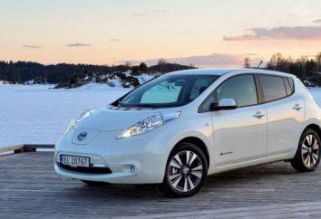 """""""Nissan"""" (elétrica): Especificações, características de operação, revisões"""