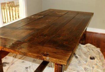 Jak zrobić stolik do ogrodu z własnymi rękami?