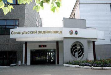 "JSC ""Sarapul Radio Plant – Holding"": historia, produkcja, produkty"