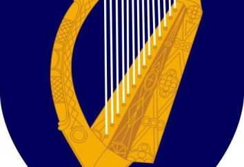 Herb Irlandii: wygląd i historii występowania