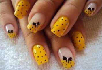 Come disegnare archi sui chiodi? Nails design