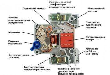 Jednobiegunowe urządzenie automatyczne: urządzenie, specyfikacje i funkcje połączeń
