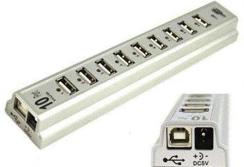 adapter USB-COM z rąk: schemat. Jak wybrać adapter USB-COM