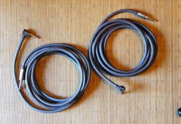 Acústica blindado fio: características e tipos