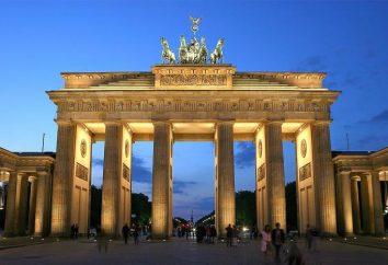 Stolica Niemiec. majestatyczny Berlin