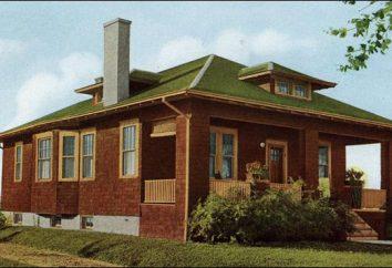 Gambrel układ więźby dachowej: Program, obliczenia, rysunki