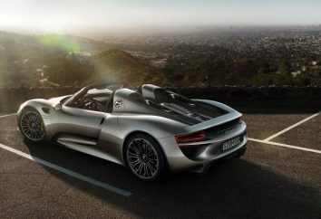 """""""Porsche 918"""": dane techniczne jednego z najbardziej imponujących niemieckiego supersamochodu"""
