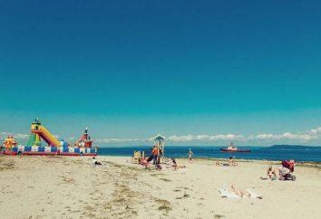 Cabo Kungasny, descripción Vladivostok popular playa