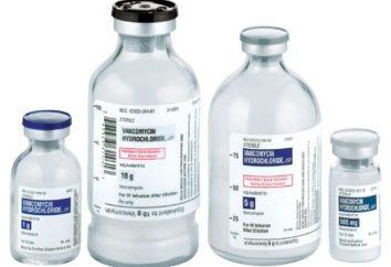 """Lek """"Wankomycyna"""": instrukcje użytkowania"""