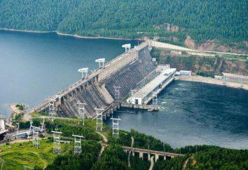 A inscrição Krasnoyarsk Reservoir, características, lazer