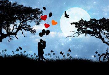 Neue und klassische kurze Liebeserklärungen