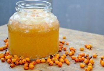 Espino cerval con el azúcar para el invierno: una forma deliciosa de mantener a su familia con vitaminas