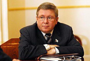 Politico Alexander Torshin: biografia, premi, successi e fatti interessanti