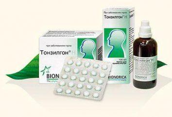 """Analog """"tonzilgon"""" più economico. """"Tonsilgon® H"""": recensioni di medici, l'istruzione"""