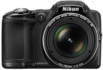 Appareil photo numérique Nikon Coolpix L830: un aperçu, caractéristiques et commentaires