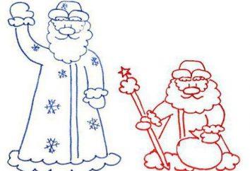 Jak rysować Santa Claus, krok po kroku