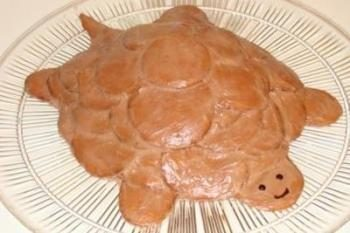 """Kuchenrezept, """"Schildkröte"""" mit saurer Sahne – die Magie Geschmack der Einfachheit"""