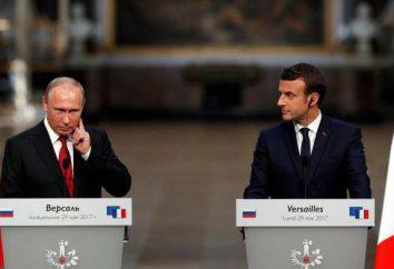 Wewnętrzne i zewnętrzne polityki Putina