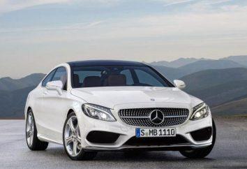 Fahrzeug Mercedes Coupe C-Klasse: Technische Daten