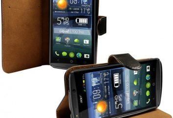 Smartphone Acer Liquid E700. Przeglądy smartfonów Acer Liquid E700 (czarny)
