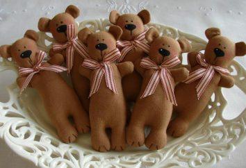Tilda niedźwiedzie: szyć swoje ręce
