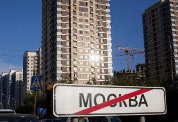 Onde em Moscou para viver bem? subúrbios da natureza, o meio ambiente, empregos, imóveis