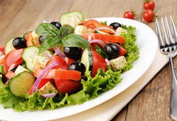 Receta de ensalada de hojas de lechuga. Recetas sencillas y originales