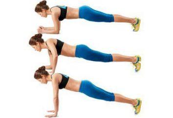 """Exercício """"Plank"""" para a imprensa, e perda de peso. Como fazer o """"bar""""?"""