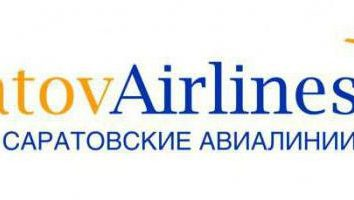 """Los precios de las aerolíneas """"Saratov"""": revisión de pasajeros"""
