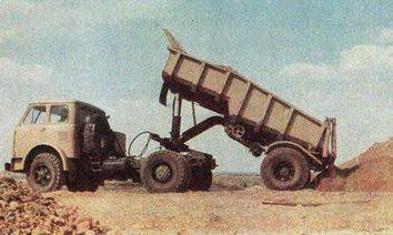 Camião tractor MAZ-504