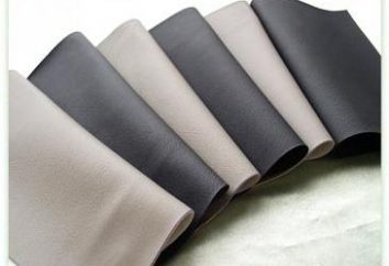 Eco couro – um novo material moderno